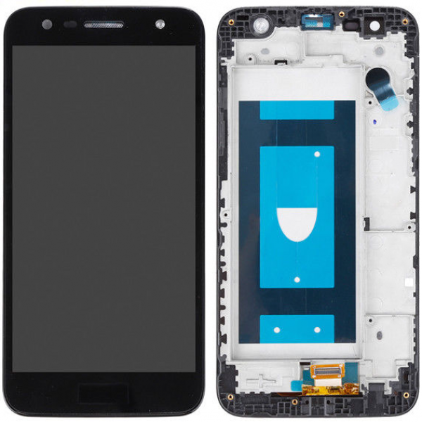 LG X Power 2 LCD Screen and Digitizer Frame Assembly - Default Title