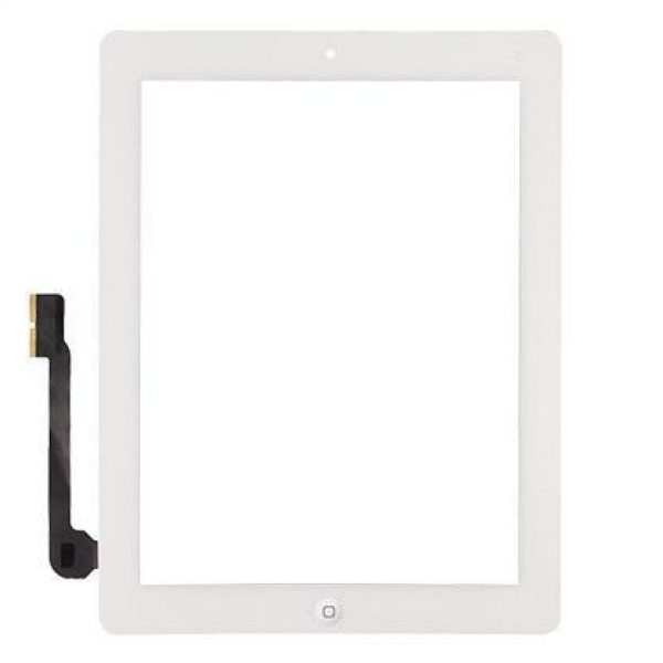iPad 4 Screen Digitizer - White