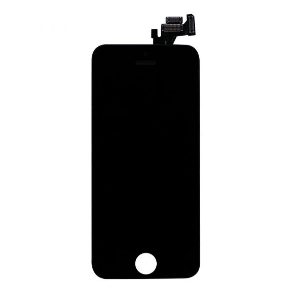 iPhone 5S & SE LCD Screen and Digitizer - Black - 5S Preassembled