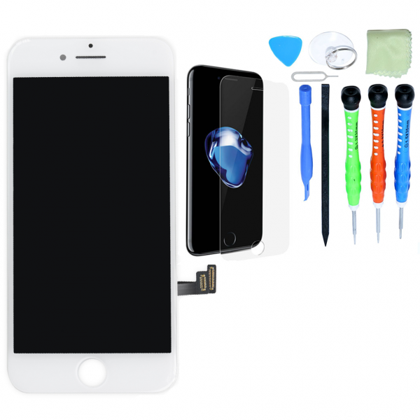 iPhone LCD Screen and Digitizer Repair Kits - iPhone 5 - White