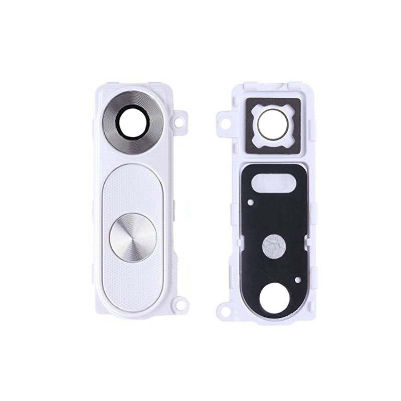 LG G3 Rear Camera Lens Cover With Frame - White